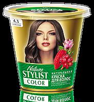 ФК 7556 Натуральная краска для волос Nature Stylist Color Тон 4.3 Шоколад