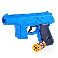 Пистолет, с дисковыми пулями
