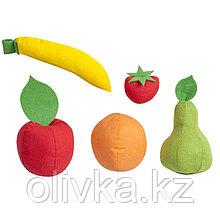 Набор фруктов, 5 предметов, с карточками