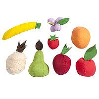 Набор фруктов, 8 предметов, с карточками