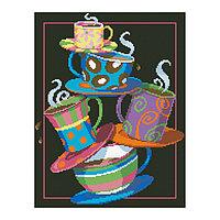 Набор алмазной вышивки «Кофе, чай!»
