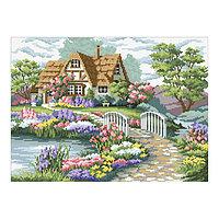 Набор алмазной вышивки «Загородный домик»