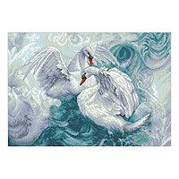 Набор алмазной вышивки «Лебеди»