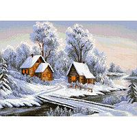 Набор алмазной вышивки «Уголок зимы»