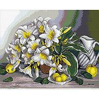 Набор алмазной вышивки «Натюрморт с лилиями»
