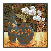 Набор алмазной вышивки «Натюрморт с орхидеей»