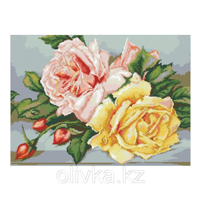 Набор алмазной вышивки «Трио чайных роз»
