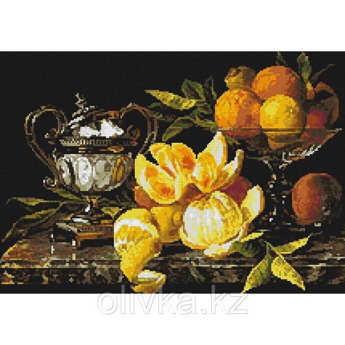 """Набор для выкладывания алмазной мозаики """"Натюрморт с апельсинами"""""""
