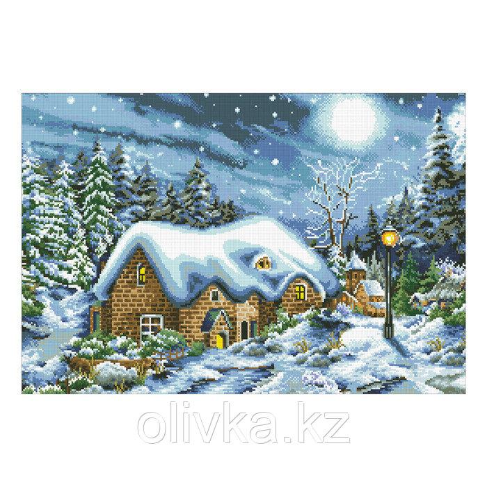 Набор алмазной вышивки «Рождественская ночь»