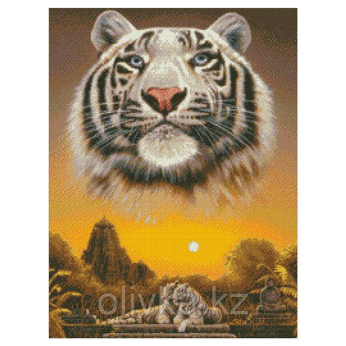 Набор алмазной вышивки «Царь джунглей»