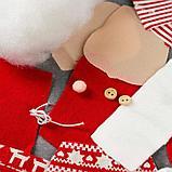 Набор для создания подвесной ёлочной игрушки из фетра «Дедушка Мороз», МИКС, фото 5