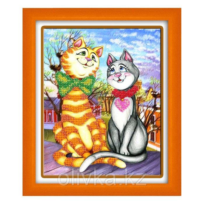 Набор для вышивки бисером «Кошки - Матрёшки»