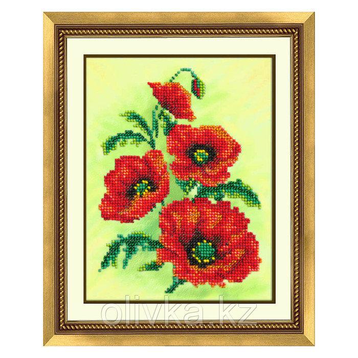 Набор для вышивки бисером «Аленький цветочек»