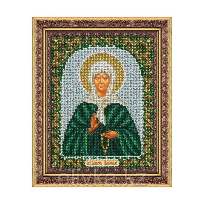Набор для вышивки бисером «Святая Блаженная Матрона Московская»