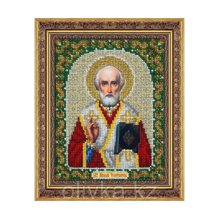 Набор для вышивки бисером «Святой Николай Чудотворец»