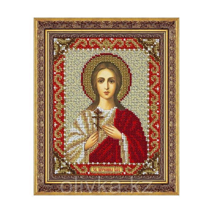 Набор для вышивки бисером «Святая Мученица Вера»