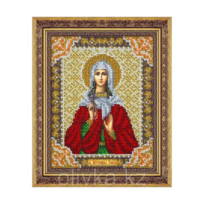 Набор для вышивки бисером «Святая Мученица София»