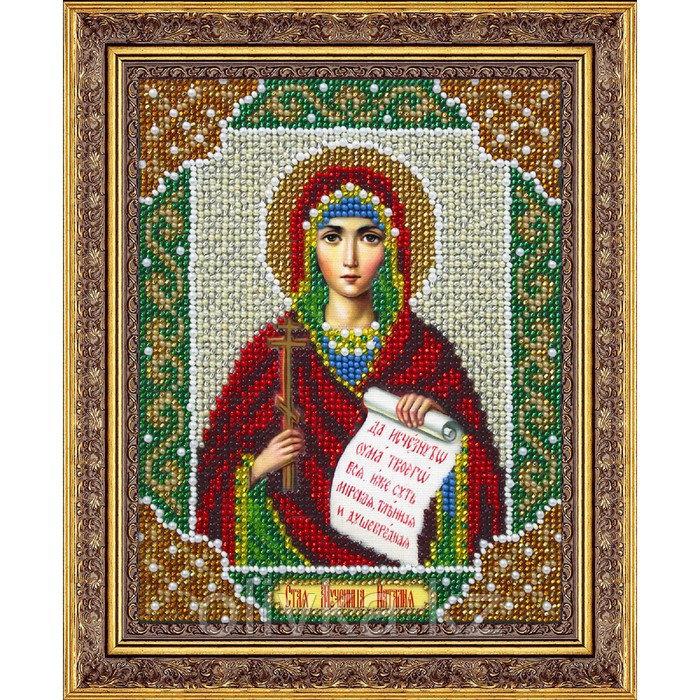 Набор для вышивки бисером «Святая Наталия»