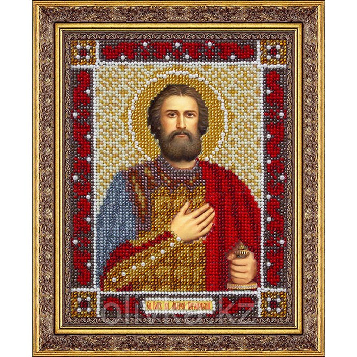Набор для вышивки бисером «Святой Благоверный князь Андрей Боголюбский»
