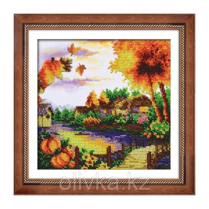 Набор для вышивки бисером «Осенний пейзаж»
