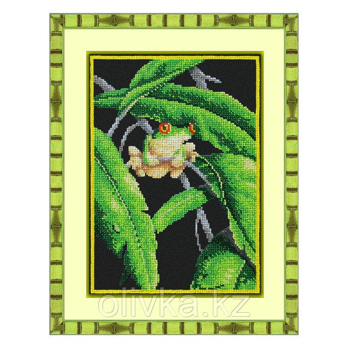 Набор для вышивки бисером «Древесная лягушка»