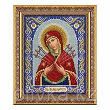 Набор для вышивки бисером «Богородица Семистрельная»