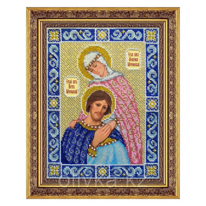 Набор для вышивки бисером «Святой князь Петр и Феврония Муромские»
