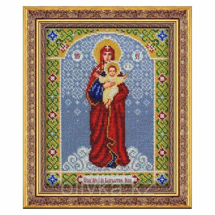 Набор для вышивки бисером «Богородица Благодатное небо»