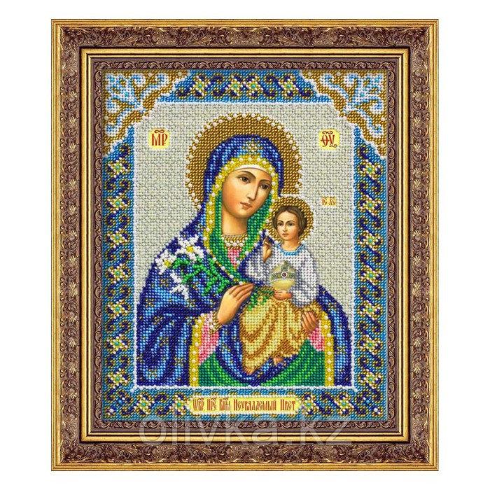 Набор для вышивки бисером «Пресвятая Богородица Неувядаемый цвет»