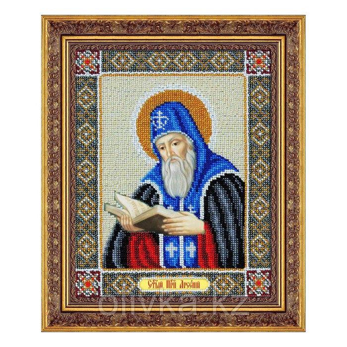 Набор для вышивки бисером «Святой преподобный Арсений»