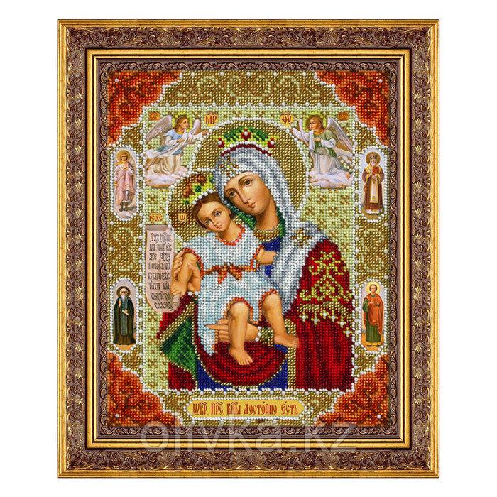 Набор для вышивки бисером «Пресвятая Богородица Достойно Есть»