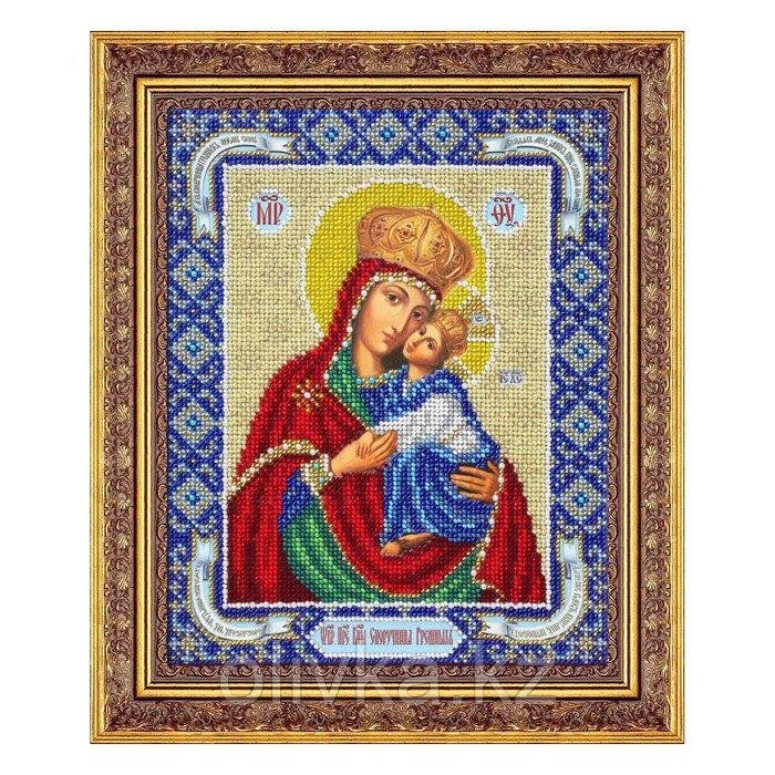 Набор для вышивки бисером «Пресвятая Богородица Споручница грешных»