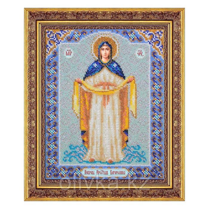 Набор для вышивки бисером «Пресвятая Богородица Покрова»