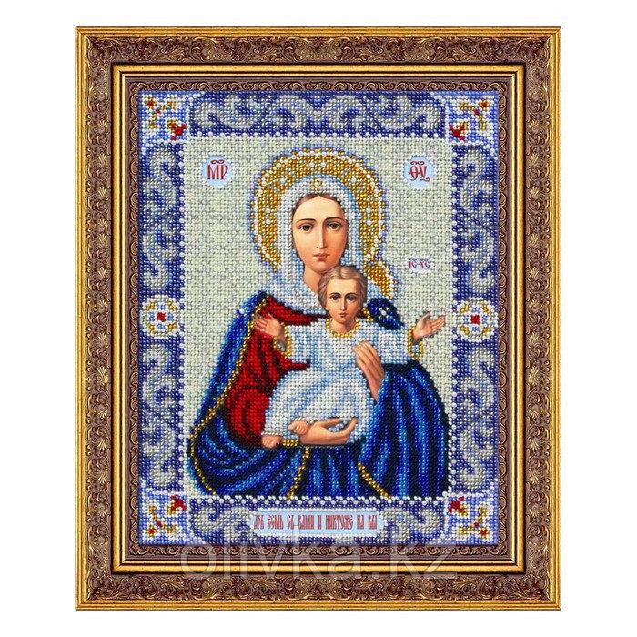 Набор для вышивки бисером «Пресвятая Богородица Леушинская»