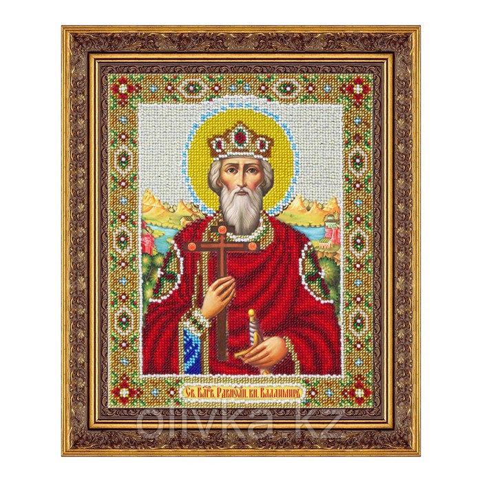 Набор для вышивки бисером «Святой равноапостольный князь Владимир»