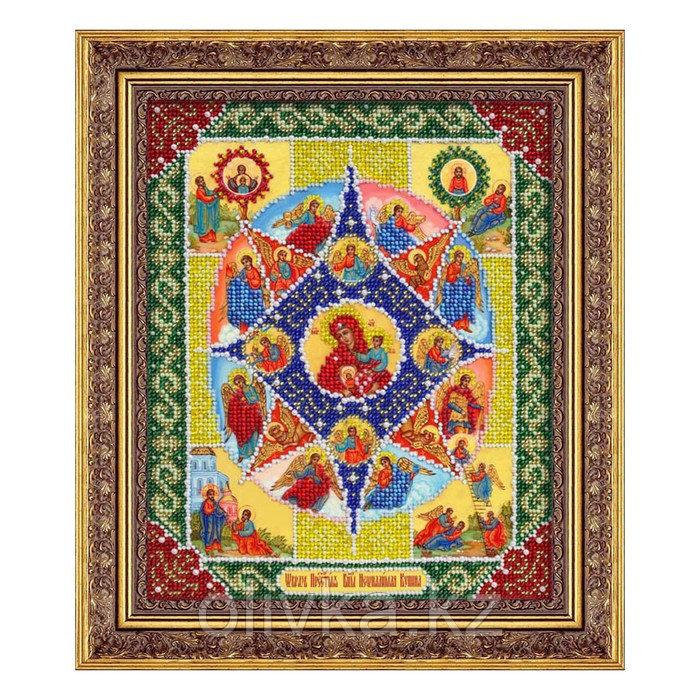 Набор для вышивки бисером «Пресвятая Богородица Неопалимая купина»