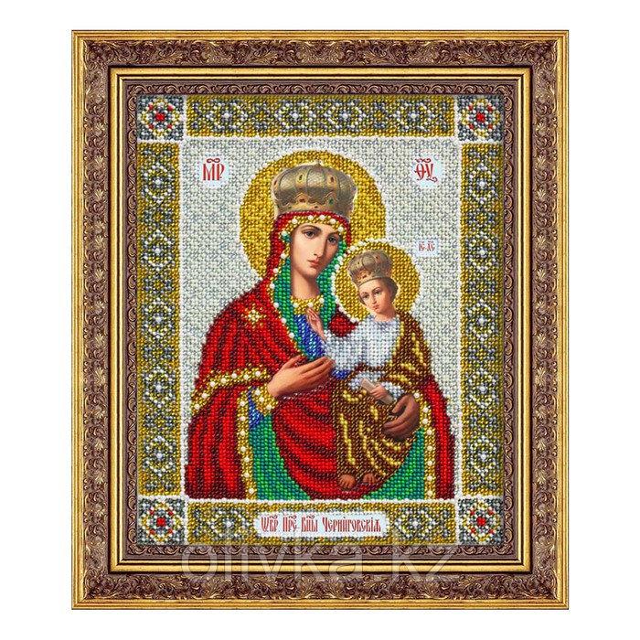Набор для вышивки бисером «Пресвятая Богородица Черниговская»