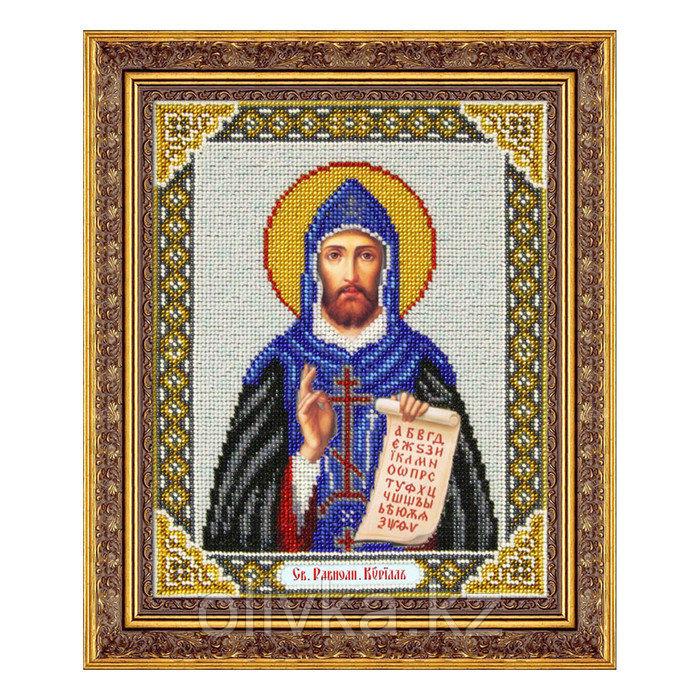 Набор для вышивки бисером «Святой равноапостольный Кирилл»