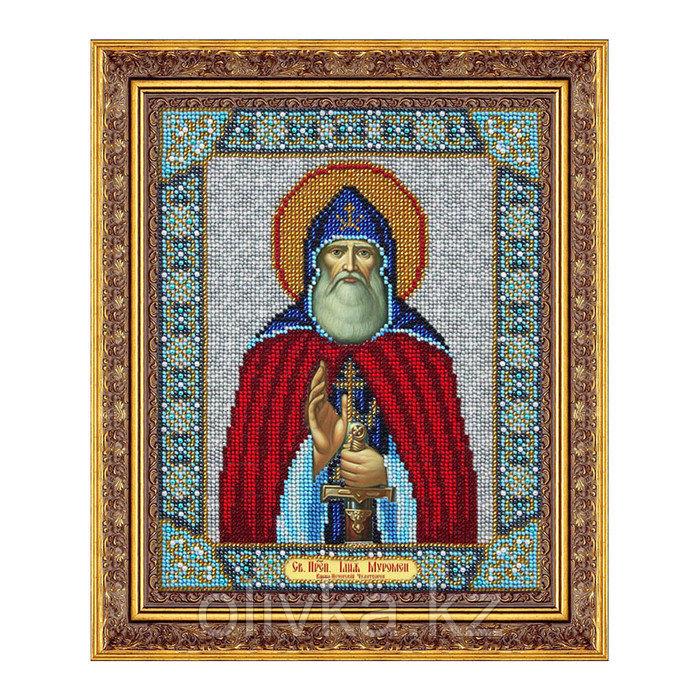 Набор для вышивки бисером «Святой Илья Муромец»