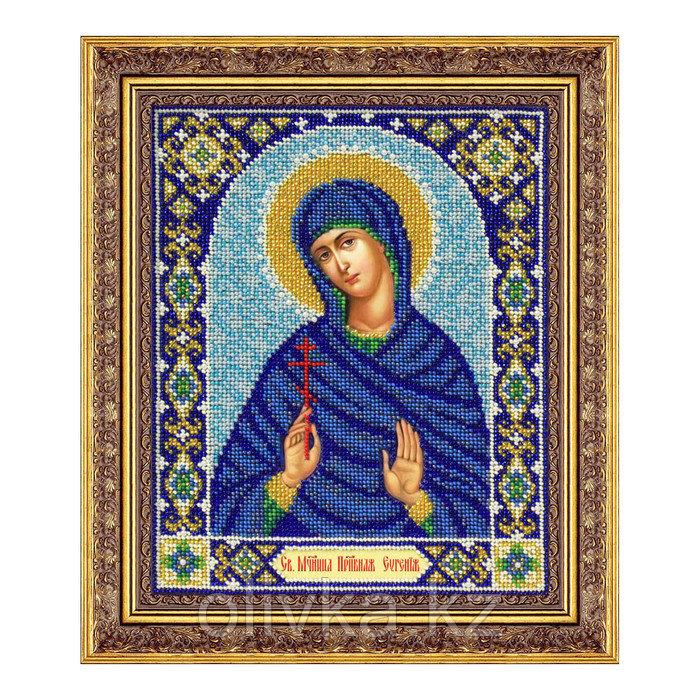 Набор для вышивки бисером «Святая мученица преподобная Евгения»