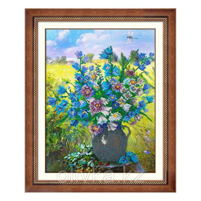 Набор для вышивки бисером «Полевые цветы»