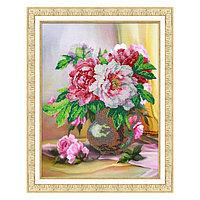 Набор для вышивки бисером «Букет пионов»