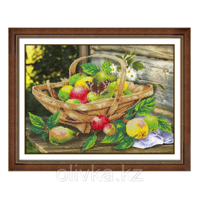 Набор для вышивки бисером «Яблочки»