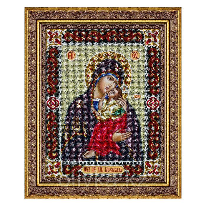 Набор для вышивки бисером «Пресвятая Богородица Ярославская»
