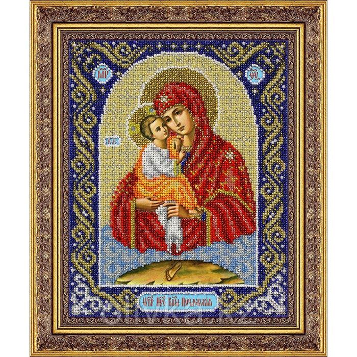 Набор для вышивки бисером «Пресвятая Богородица Почаевская»