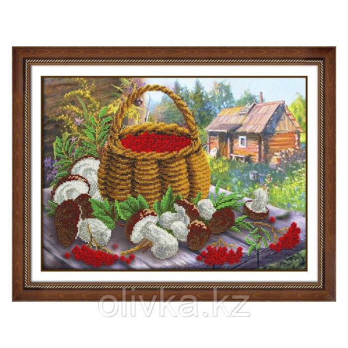 Набор для вышивки бисером «Дары осени»