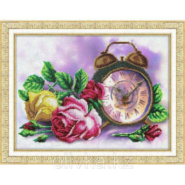 Набор для вышивания бисером «Розовый час»