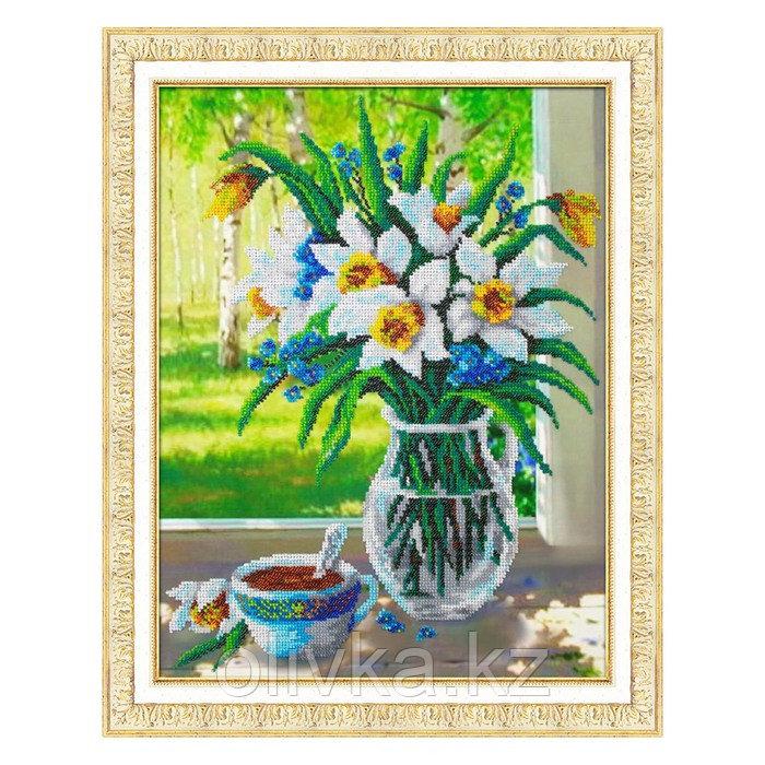 Набор для вышивки бисером «Весенний букет»