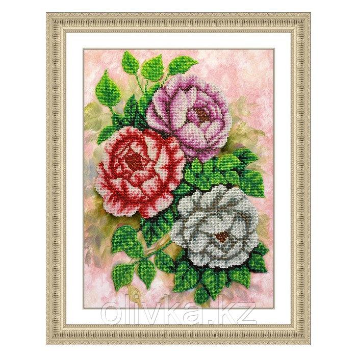 Набор для вышивки бисером «Чайные розы»