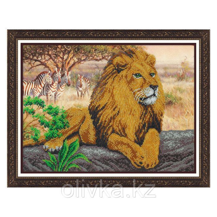 Набор для вышивки бисером «Царь зверей»